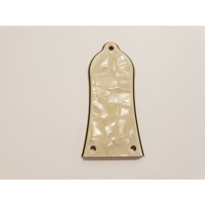 Les Paul Guitar Model 3 Hole Truss Rod Cover Cream Pearl