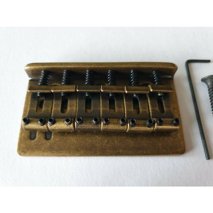 Fender Stratocaster Vintage bridge// tremolo Screws Hand Aged Relic