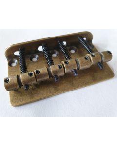 6pcs Rechteckig Electric Guitar Tremolo Bridge String Saddles Ersatzteile