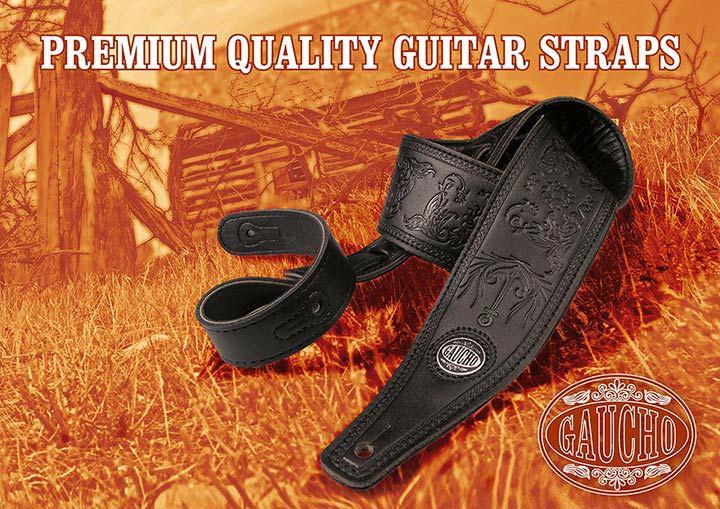 Gaucho guitar straps
